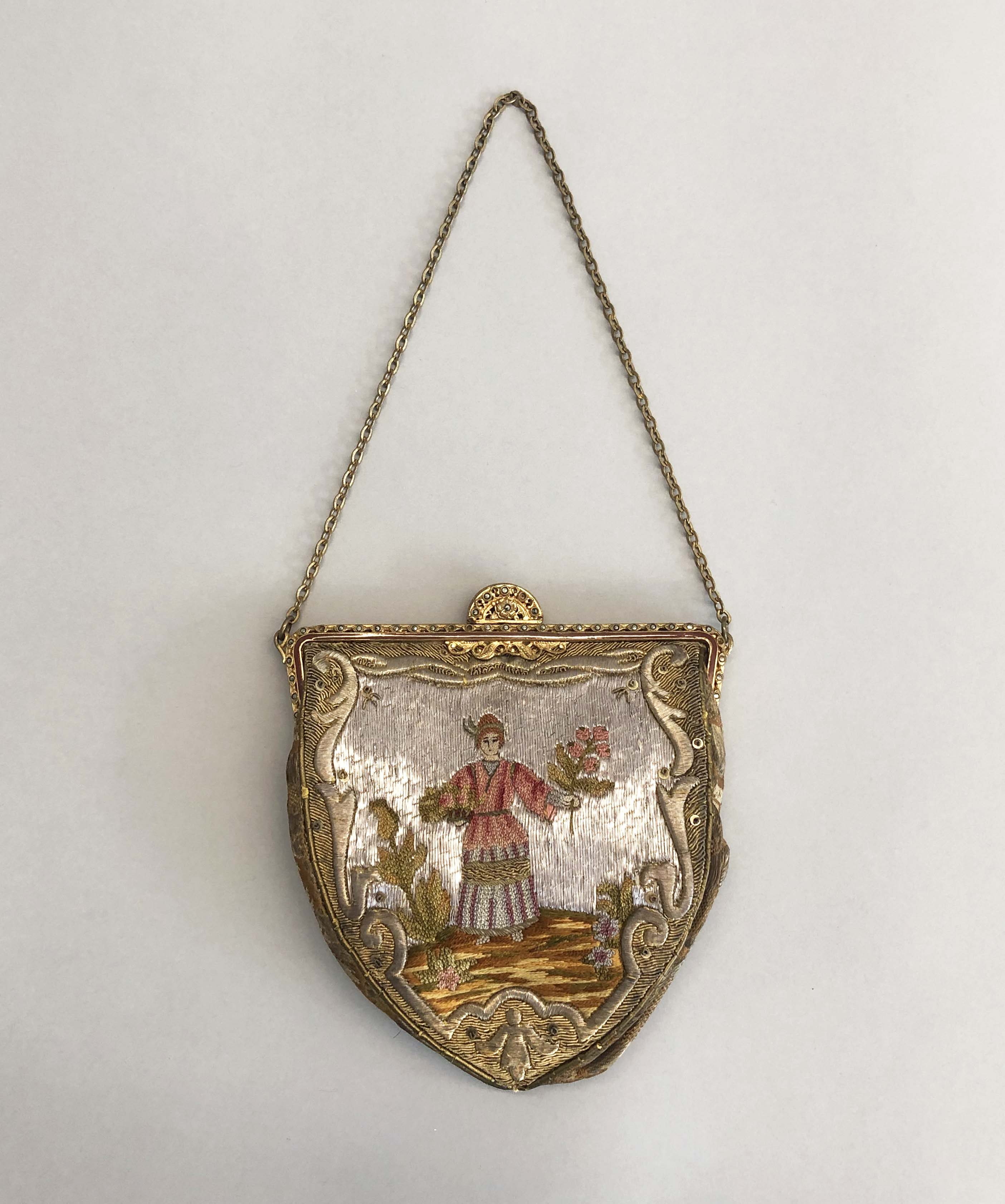 Embroidered Frame Bag with Chain-1.jpg
